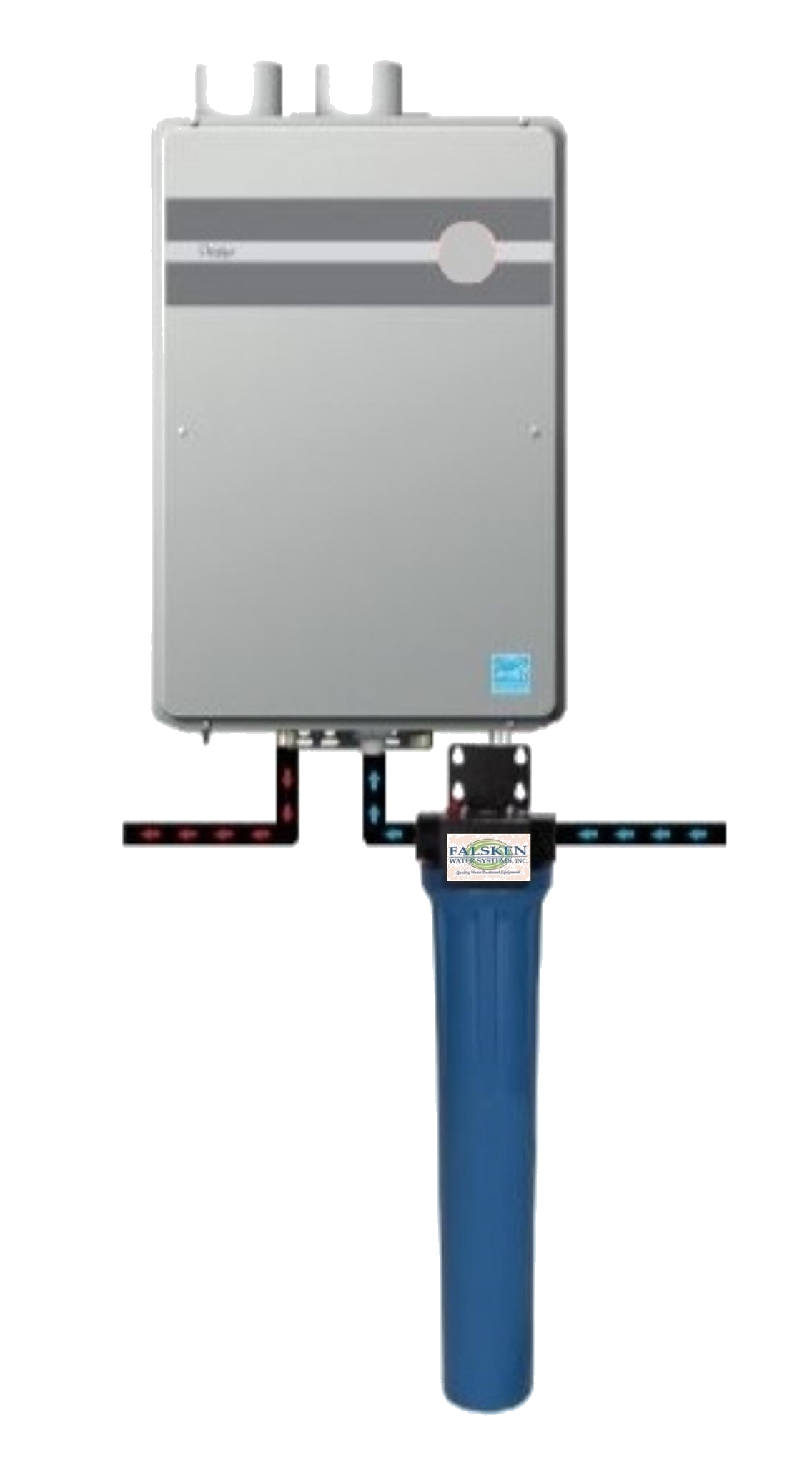 ftht install diagram with FWS bracket label